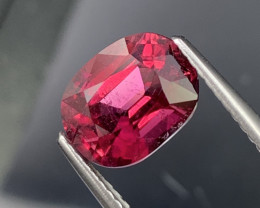 2.63 Cts Bright Red Top Quality Natural Rubellite Tourmaline