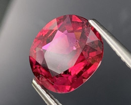 2.48 Cts AAA Grade Bright Red Color Natural Rubellite