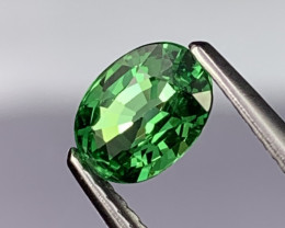 Bright Green AAA Grade Natural Tsavorite Garnet 0.79 Cts