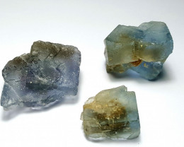 Amazing Natural color gemmy grade Crystal Fluorite lot 220Cts-Pak