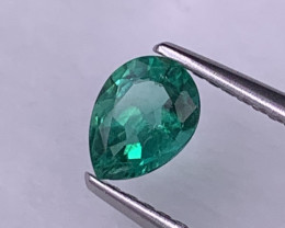 AAA Grade Vivid Green Natural Emerald Fine Luster 0.49 Cts