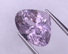12.65 Cts Top Quality Beautiful Pink Natural Kunzite Excellent Luster