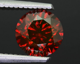 AIG Certified 2.37 ct Reddish Orange Diamond
