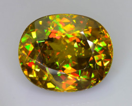 Rare AAA Fire 11.54 ct Sphene