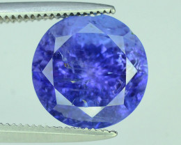 Top Grade 4.10 ct Tanzanite eye catching Color