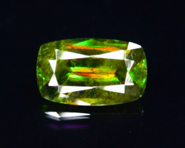 Rarest Unbelievable Fire 2.05 Ct AAA Brilliance Chrome Sphene !G!