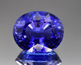 Natural D Block Tanzanite 48.54 Cts Top Grade  Faceted Gemstone
