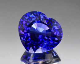 Natural D Block Tanzanite 30.54 Cts Top Grade  Faceted Gemstone