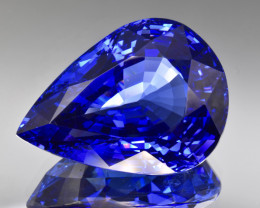 Natural D Block Tanzanite 84.62 Cts Top Grade  Faceted Gemstone
