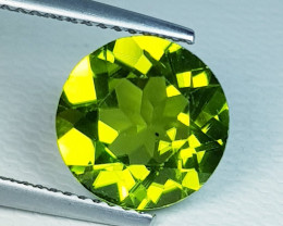 2.47 ct Top Quality Round Cut Top Luster Natural Peridot
