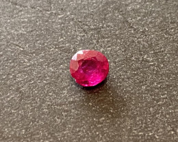 0.38ct natural unheated ruby
