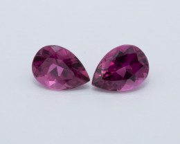 RUBELITE, 1.40 CTS. TOTAL WEIGHT