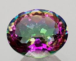 2.48Crt Mystic Quartz Natural Gemstones JI18