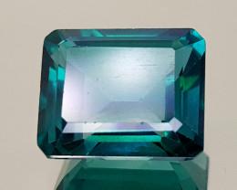 6Crt Green Topaz Natural Gemstones JI18