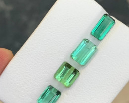 6.65 carats Blue&Green color Tourmaline Gemstone From Afghanistan
