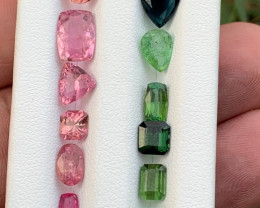 23 carats Mixed color Tourmaline Gemstone From Afghanistan