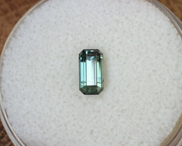 0,85ct Teal to green colour change Sapphire - Master cut!