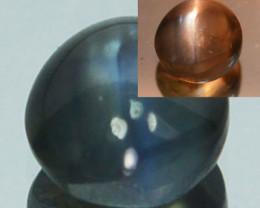 ~RAREST~ 0.56 Cts Natural Alexandrite Cat's Eye Color Change Sri Lanka