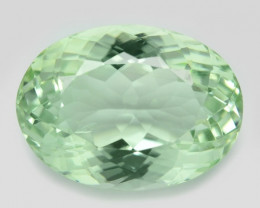 9.53 Cts Natural Green Amethyst Loose Gemstone