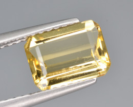 Natural Heliodor 1.20 Cts Top Luster