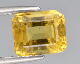 Natural Heliodor 1.46 Cts Top Luster
