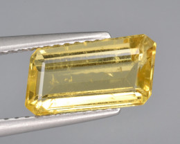 Natural Heliodor 2.00 Cts Top Luster