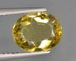 Natural Heliodor 1.58 Cts Top Luster