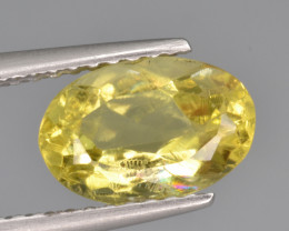 Natural Heliodor 1.60 Cts Top Luster