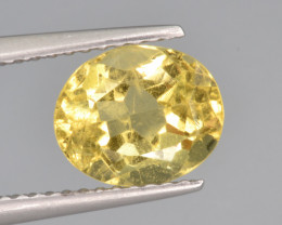 Natural Heliodor 1.93 Cts Top Luster