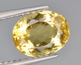 Natural Heliodor 2.18 Cts Top Luster