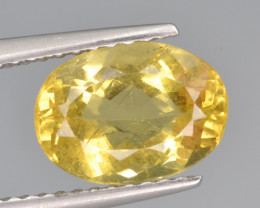 Natural Heliodor 2.19 Cts Top Luster