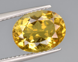 Natural Heliodor 3.31 Cts Top Luster