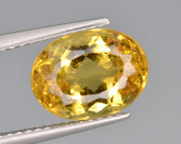 Natural Heliodor 3.45 Cts Top Luster
