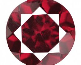 2.04 Cts Unheated Natural Red Rhodolite Garnet Gemstone