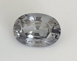 Pretty Luminous Large Oval Grey Spinel - Burma