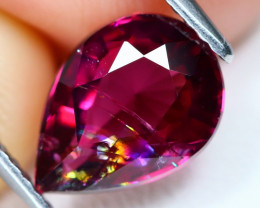 Umbalite Garnet 2.89Ct Pear Cut Natural Umbalite Garnet C0802