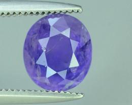Top Quality 1.45  ct Purplish Pink Color Sapphire
