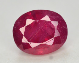 Brilliant Color 1.50 Ct Natural Ruby From Afghanistan