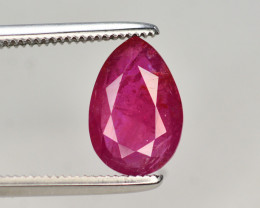 Brilliant Color 2.10 Ct Natural Ruby From Afghanistan