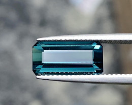 Natural Blue Tourmaline 3.90 Cts