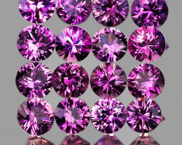 2.20 mm Round 20 pcs Unheated Lavender Pink Sapphire [VVS]