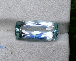 Aquamarine, 5.15 cts Top Color Natural Aquamarine from Pakistan