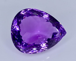23.76 Crt Amethyst  Faceted Gemstone (Rk-11)