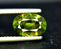 Sphene Titanite, 3.35 CT Natural Full Fire Sphene Titanite Gemstone