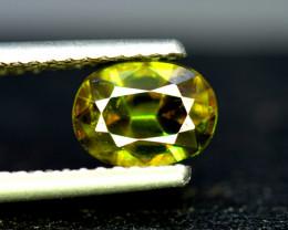 Sphene Titanite, 1.70 CT Natural Full Fire Sphene Titanite Gemstone