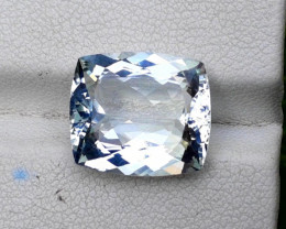 Aquamarine 7.10 CT Natural Cushion Cut Aquamarine Gemstone