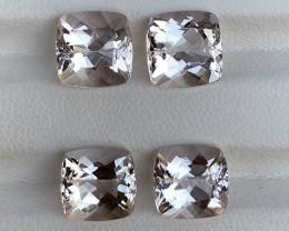 12.40 Carats Natural  Morganite Gemstone