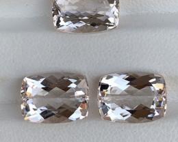 12.20 Carats Natural  Morganite Gemstone
