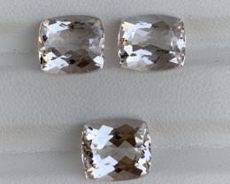 10.75 Carats Natural  Morganite Gemstone