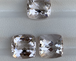 12.80 Carats Natural  Morganite Gemstone
